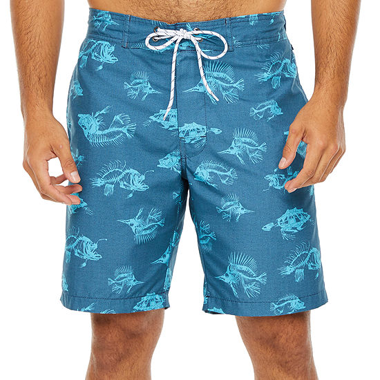 "St. John's Bay Micro Fiber 10"" E-Board Swim Short"
