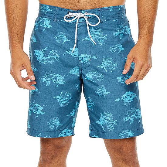 St. John's Bay Printed Board Shorts