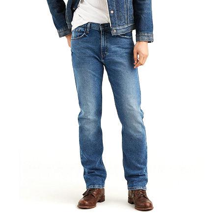 Levi's Men's 505 Regular Fit Jeans - Stretch, 40 32, Blue