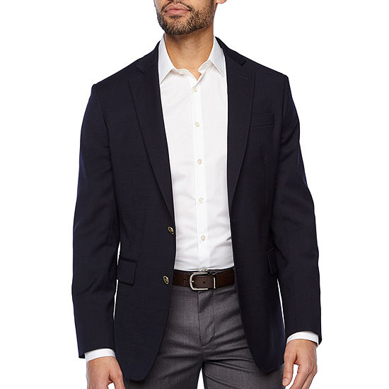 Stafford Hopsack Mens Stretch Classic Fit Blazer