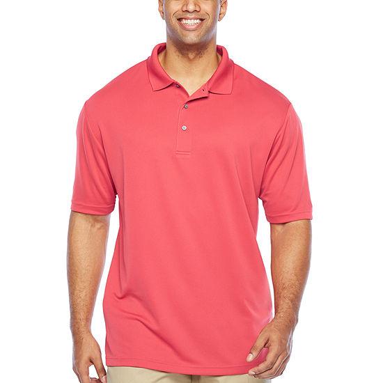 PGA TOUR Big and Tall Mens Short Sleeve Polo Shirt