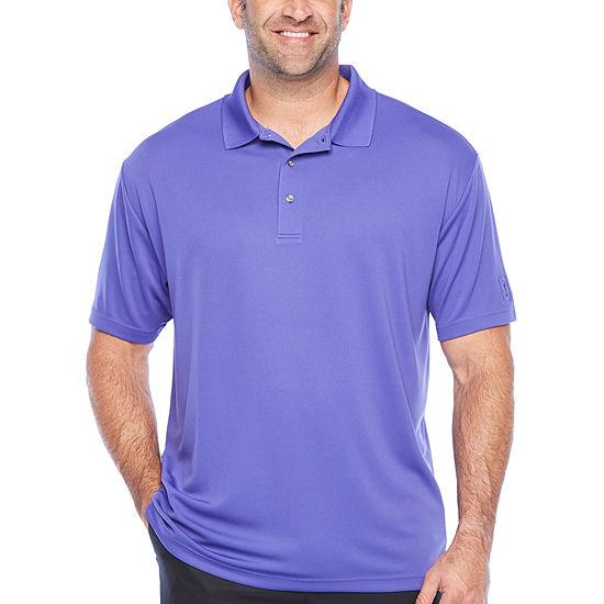 PGA TOUR Mens Short Sleeve Polo Shirt - Big and Tall