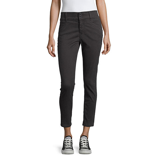 Unionbay-Juniors Womens Straight Flat Front Pant