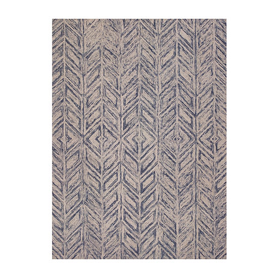Kas Herringbone Hand Tufted Rectangular Indoor Rugs