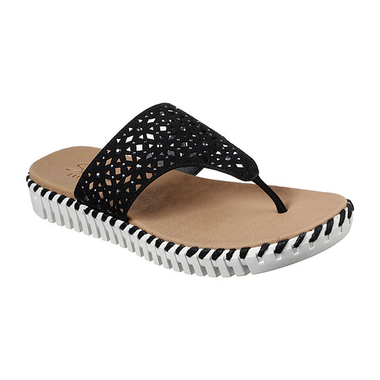 Skechers Womens Sepulveda-Larkspur Flip-Flops