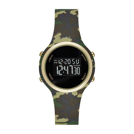 Opp Womens Digital Green Strap Watch-Fmdjo169