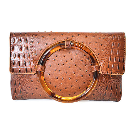 Imoshion Vegan Crocodile Clutch