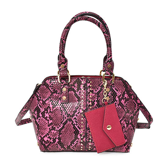 Imoshion Vegan Snake Dome Satchel