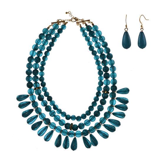 Mixit 2-pc. Blue Jewelry Set