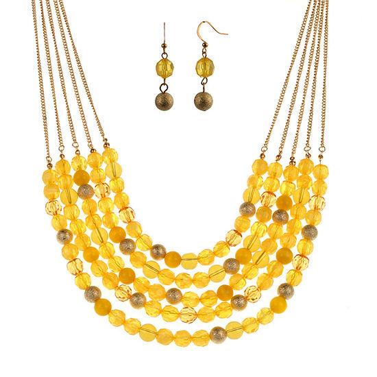 Mixit 2-pc. Yellow Jewelry Set