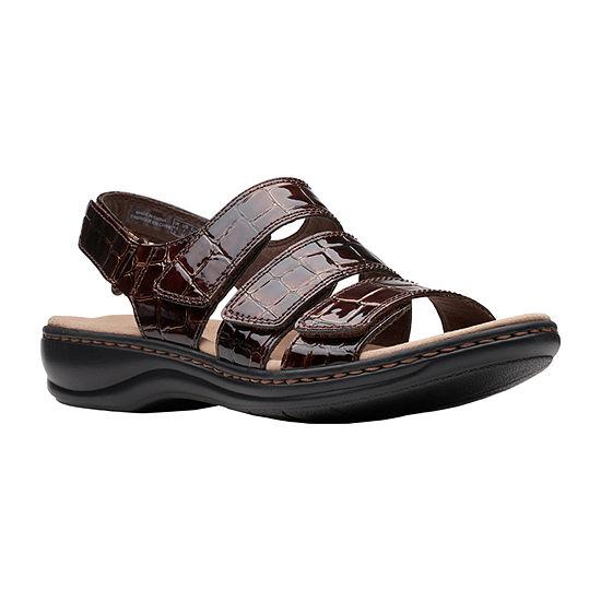 Clarks Womens Leisa Melinda Heeled Sandals