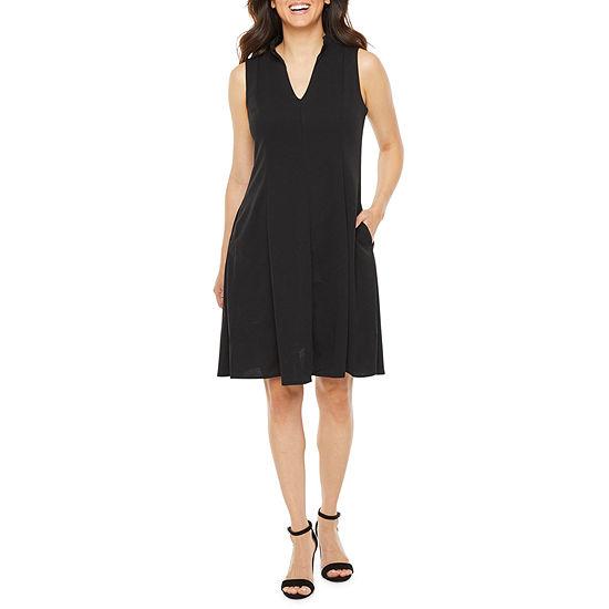 Soho Sleeveless Fit & Flare Dress
