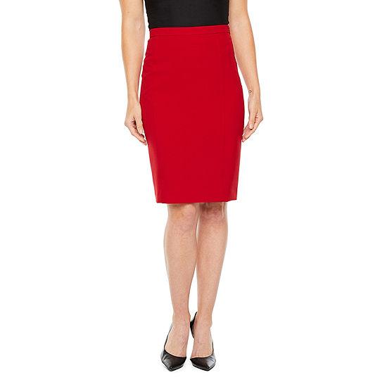 Black Label by Evan-Picone Suit Skirt