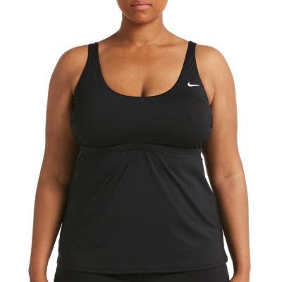 Nike Tankini Swimsuit Top Plus