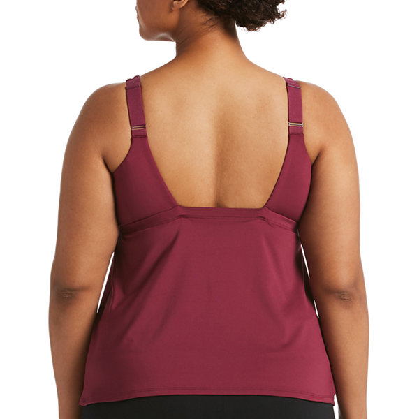 Nike Tankini Swimsuit Top Plus