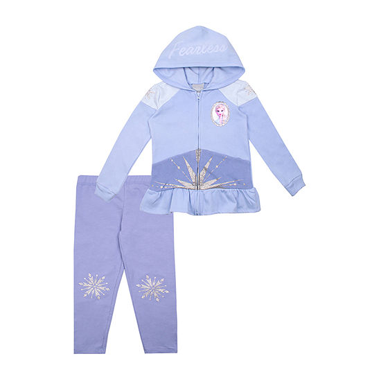 Disney Girls 2-pc. Frozen Legging Set-Toddler