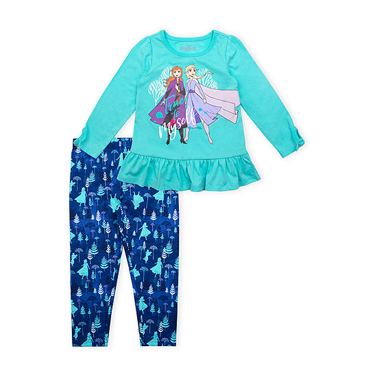 Disney's Frozen Girls 2-pc Legging Set-Toddler