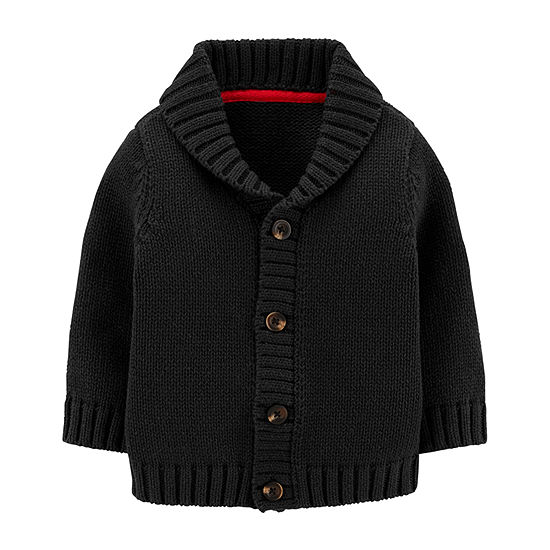 Carter's Baby Boys Crew Neck Button Cardigan