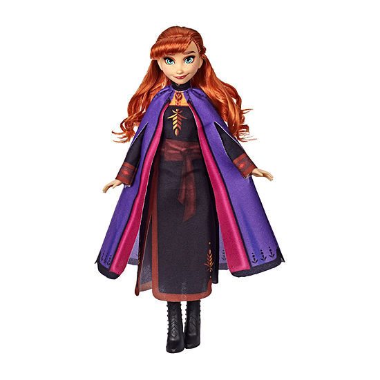 Disney Frozen Collection Anna Fashion Doll With Long Red Hair And Outfit