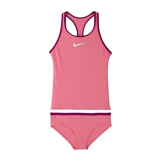 Nike Big Girls Tankini Set