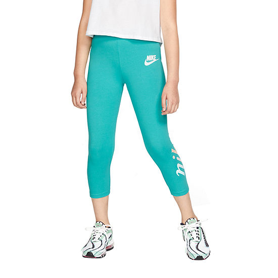 Nike Girls Workout Capris Big Kid
