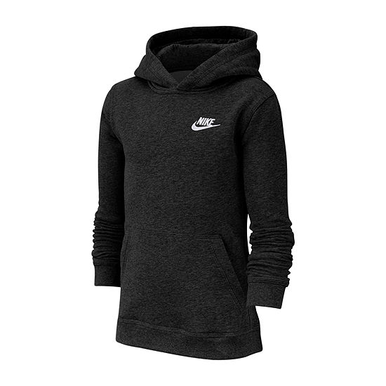 Nike Cotton Fleece Boys Hoodie-Big Kid