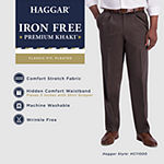 Haggar ® Iron Free Premium Khaki Classic Fit Pleated Pants