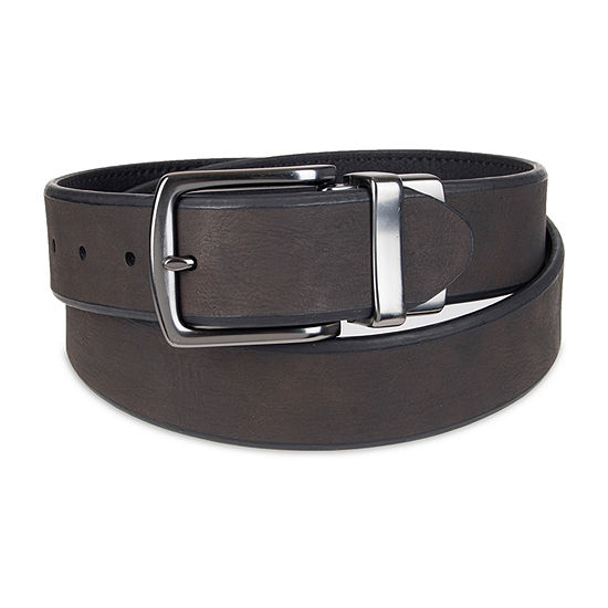 Columbia™ Leather Reversible Men's Belt with Beveled Edge