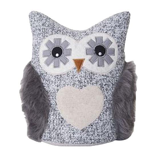 Elements Grey Owl Door Stop
