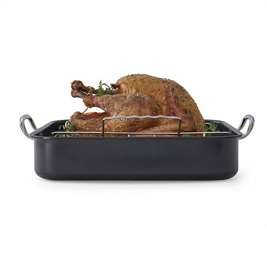 Cooks 2-pc. Nonstick Roaster with Rack