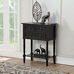 3-Drawer Console Table
