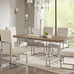 Madison Park Kors Rectangular Wood-Top Dining Table