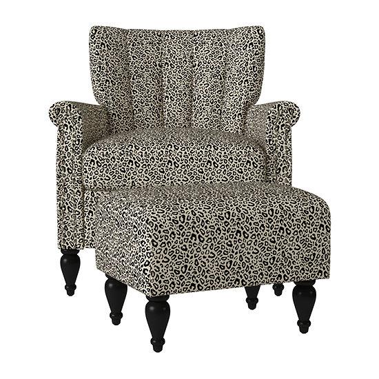 Noveen 2-pc. Roll-Arm Chair