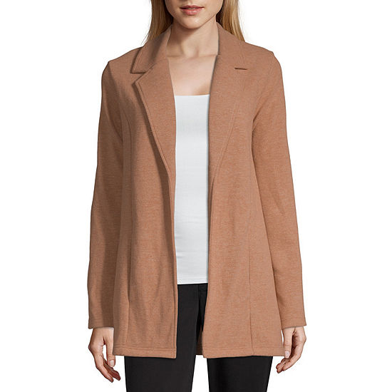 Worthington Knit Lightweight Topcoat