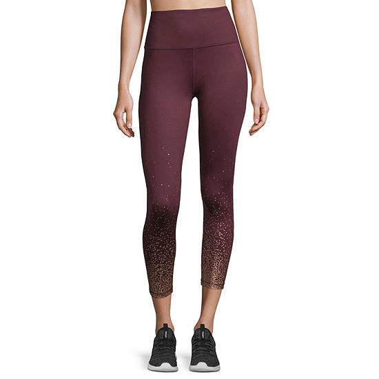 Xersion Shine Side Seam 7/8 Legging