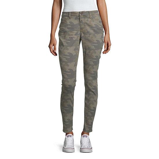 a.n.a Womens Camo Skinny Jean
