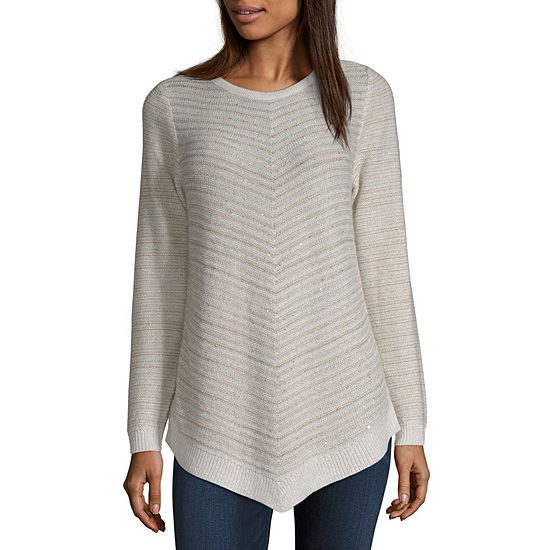 Alyx Womens Scoop Neck Long Sleeve Pullover Sweater