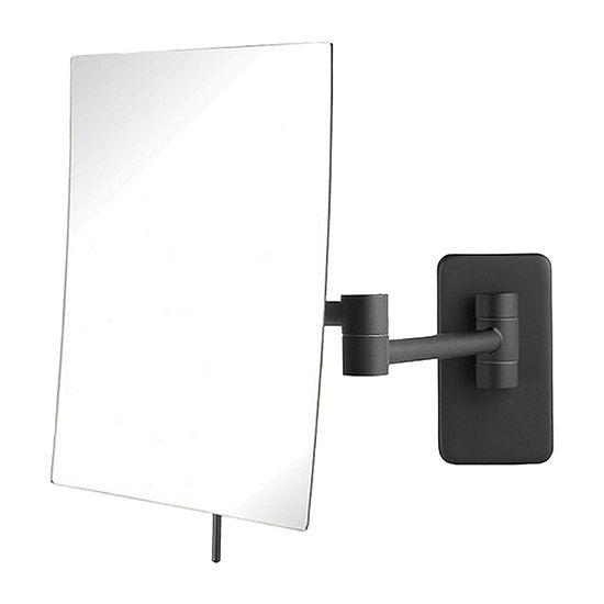 Jerdon JRT695BK Rectangular Shaped Wall Mirror
