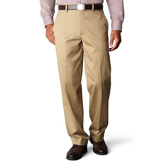 Dockers® D4 Signature Relaxed-Fit Flat-Front Khaki Pants
