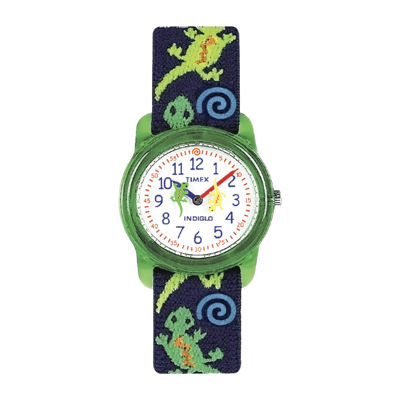 Timex® Easy Reader Kids Print Fabric Strap Watch T728819J