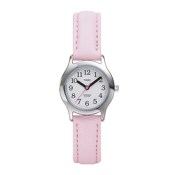 Timex® My First Timex Easy Reader Kids Pink Strap Watch T790819J
