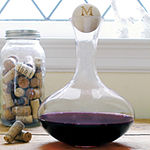 Cathy's Concepts Personalized Large Wine Decanter