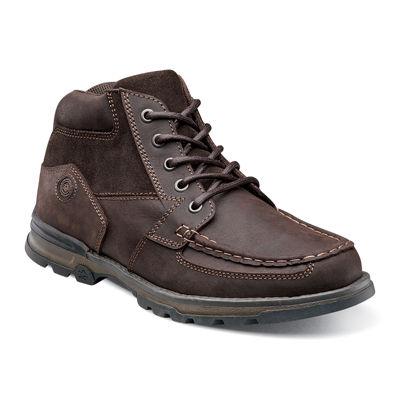 Nunn Bush® Pershing Men's Moc Toe Casual Boots
