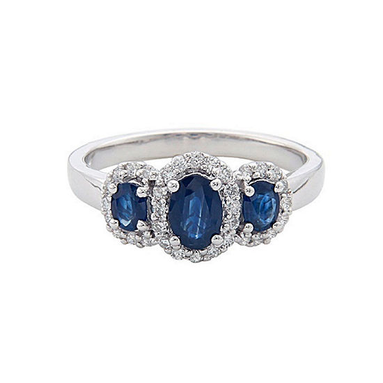 LIMITED QUANTITIES! Blue Sapphire 14K Gold Cocktail Ring