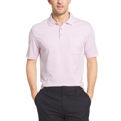 Van Heusen Short Sleeve Flex Stripe Polo Shirt