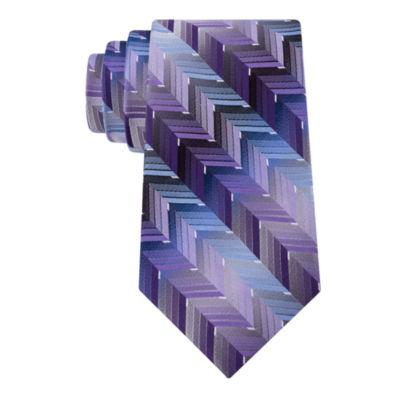 Van Heusen Flex Tech Zig Zag On Ombre Vine XL Tie