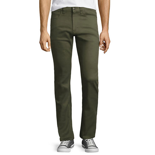 Akademiks Shady Slim-Fit Stretch Twill Pants