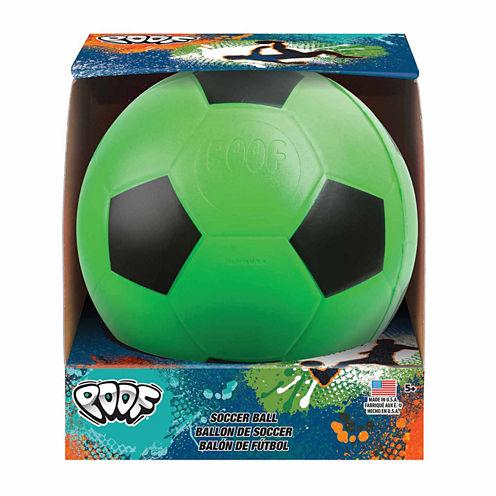 """Poof 7.5"""" Foam Soccer Ball"""" Combo Game Set"""