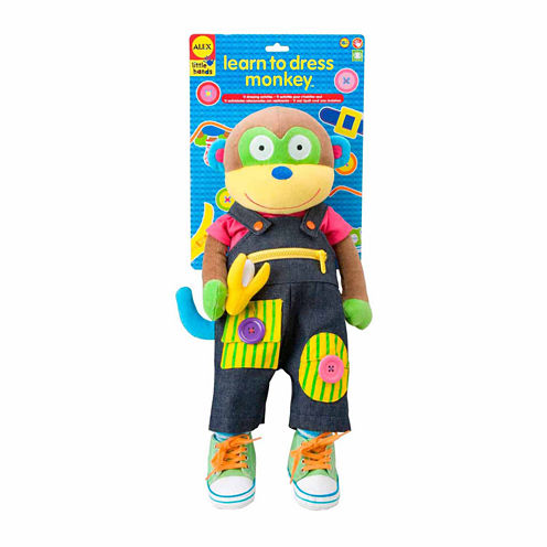 Alex Toys Little Hands Learn To Dress Monkey Discovery Toy
