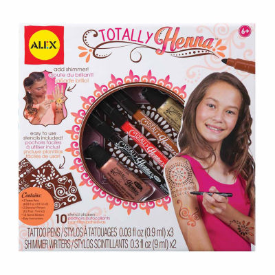Alex Toys Spa Totally Henna 16-pc. Beauty Toy